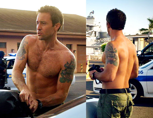 Alex O'Loughlin's Tattoos (Part 2) – The Cover-Ups And Hidden ...