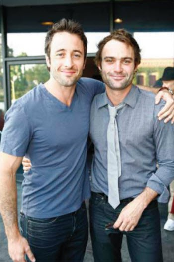 Alex & Matthew at the premiere of Tender Hook