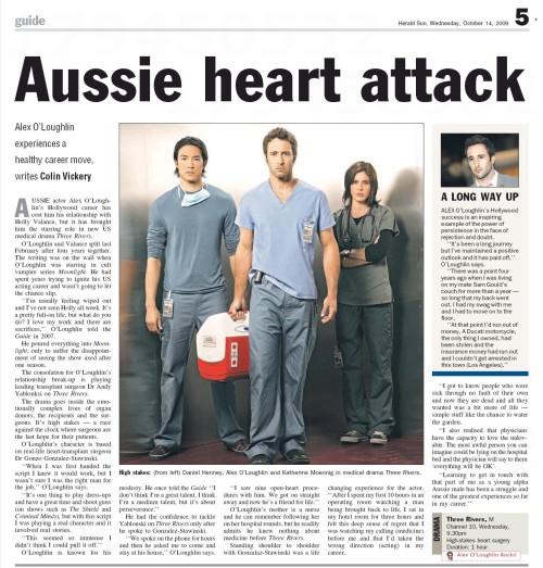 Herald Sun - 14 Oct 2009
