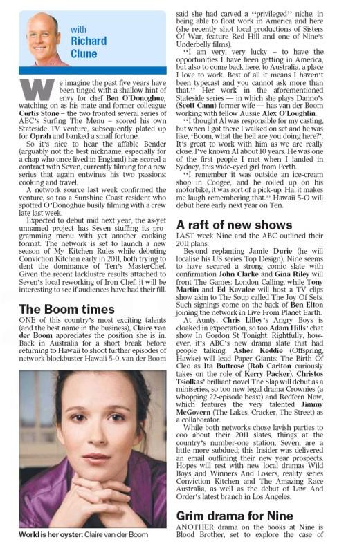 Sydney Times - 5 December 2010