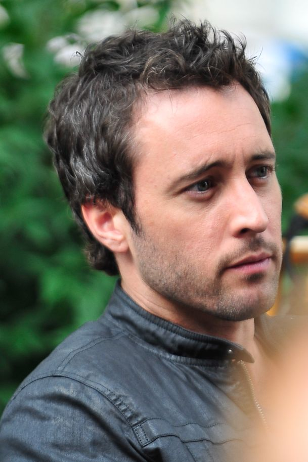 Alex Oloughlin It Is A Piece About Hair Or Is It A Hairpiece