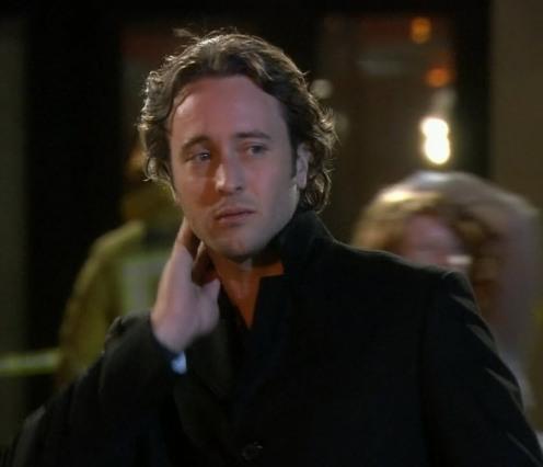 Alex O'Loughlin as Mick St John (crying)