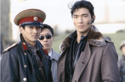Will Yun Lee (aka Sang Min) with Rick Yune