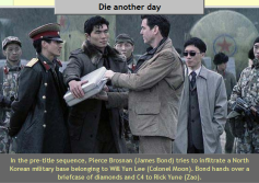 Will Yun Lee (aka Sang Min) with Rick Yune and Piece Brosnan