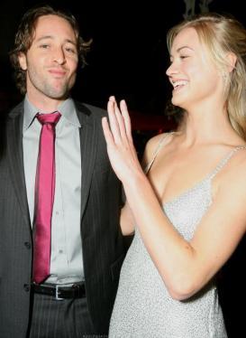 Alex & Yvonne Strahovski - 2008