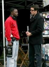 Alex and director Rob Hardy