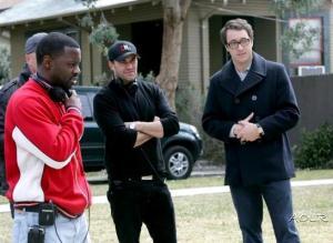Alex, Simon Mirren and Rob Hardy (Director)