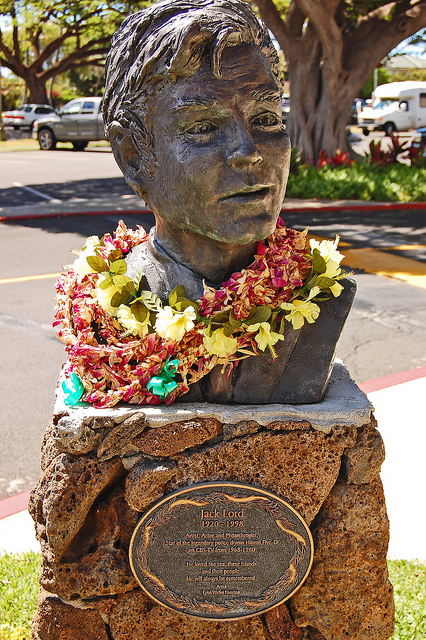 Jack Lord's statue