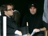 Alex and Simon Mirren - set of CM