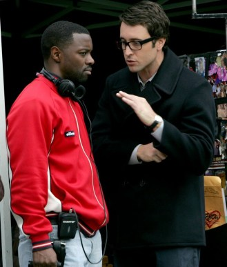 Alex and the director Rob Hardy - CM
