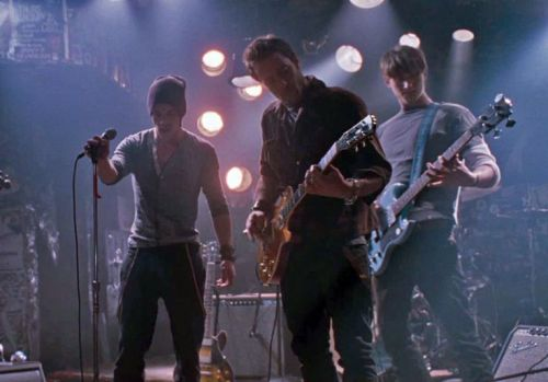 Alex in August Rush band