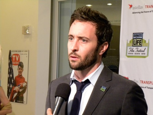 Alex O'Loughlin - Donate Life Person of the Year 2010