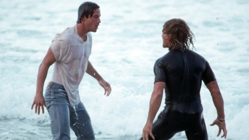 Keanu Reeves & Patrick-Swayze - Point Break