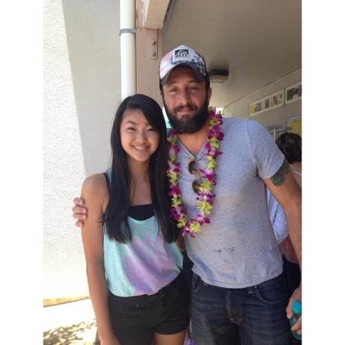 Alex O'Loughlin came to talk to our class today! #ohanaarts #myschooliscoolerthanyours #hawaii50 #hi50 Credit:  @kikiana808 on IG