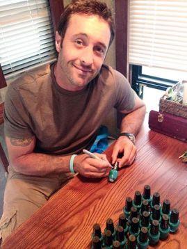 Taylor's gift nail polish