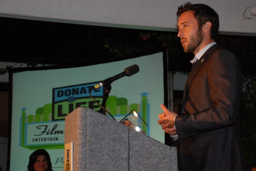 Acceptance speech - Donate Life Person of the Year 2010