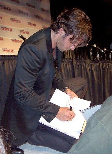 Alex at Comic Con