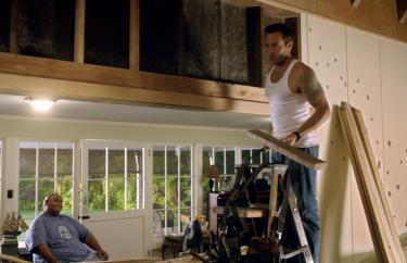 Steve fixing