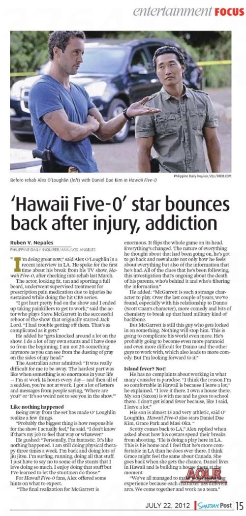 Sunday Post - 22 Jun 2012