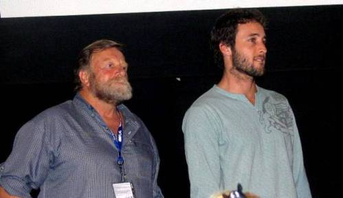 Alex & Jack at the Toronto Film Festival 2004