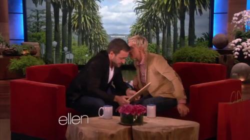 Alex on Ellen