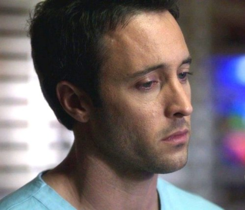 Alex as Dr Andy in Three Rivers