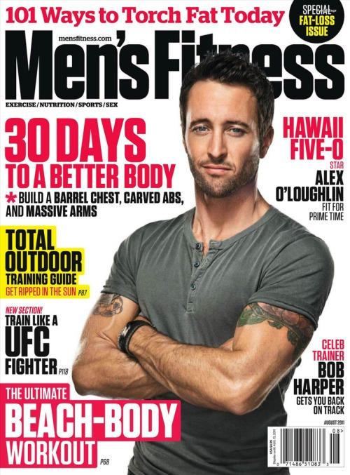 Men's Fitness USA - August 2011
