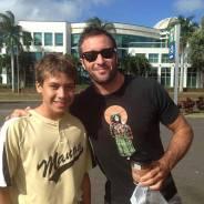 Alex & a fan