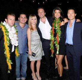 Peter with the cast at SOTB 1
