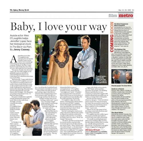 Sydney Morning Herald - 14 May 2010