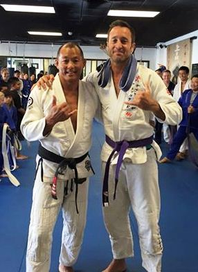 Alex & Egan (15 August 2015 - purple belt)