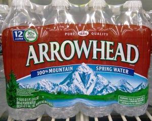 Lake Arrowhead water