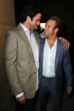 Scott & Troy Garity at the premiere of Mercy