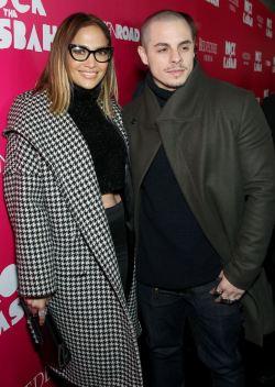 Jennifer Lopez & Casper Smart at Rock the Kasbah Premiere