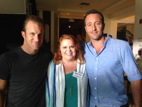 Alex & Scott with Kinna