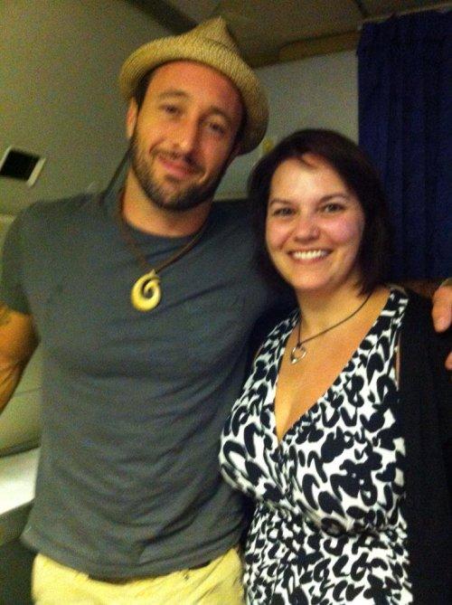 Alex with Gillian