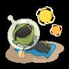 Alien_Sunbathing