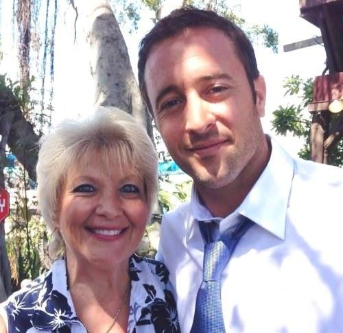Alex & Kimmy on set - Sept 2014 (Epi 4:09)