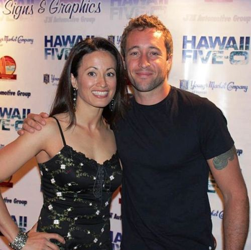 Alex & (Stuntwomen) Tamiko at wrap party 2012