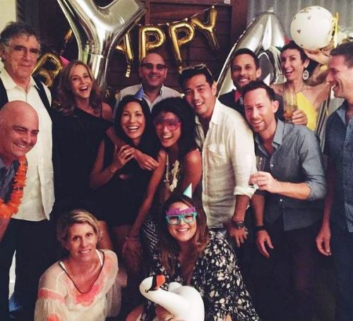 Grace Park Birthday celebration