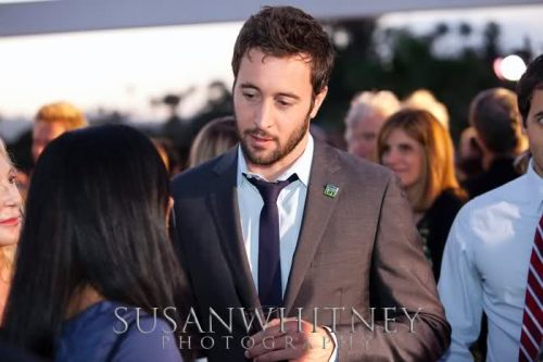 Alex at Donate Life Person of the Year Awards, June 2010