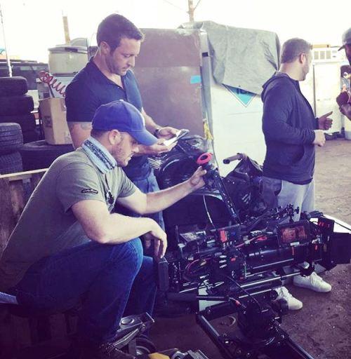 From Matt Wheeler - Alex last day on set