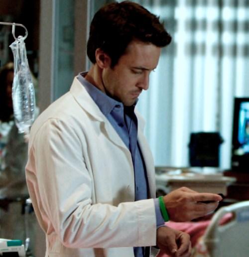 Alex as Dr Andy Yablonski - Three Rivers