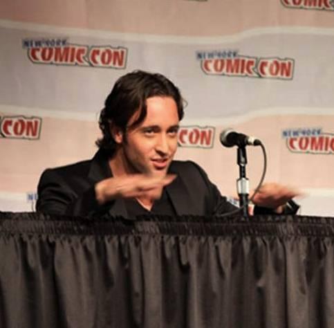 Alex at New York Comic Con 2008