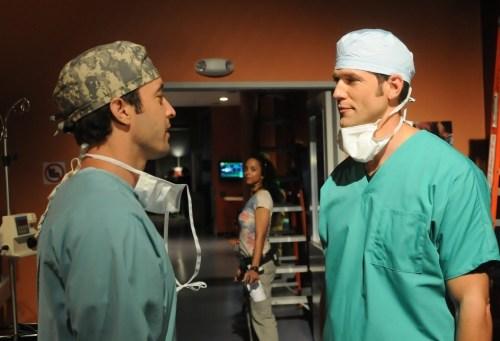 Alex O'Loughlin & Dr Travis Stork