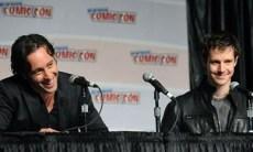 Alex O'Loughlin Jason Dohring - New York Comic Con