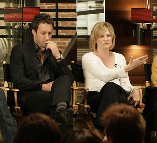Alex & Producer, Carol Barbee at TCA 2009