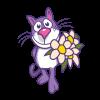 Cat_Flowers