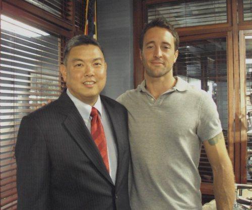 Alex & Congressman Mark Takai - 2011