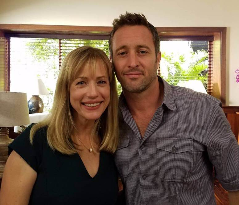 alex-with-actress-cathryn-deprume-on-set